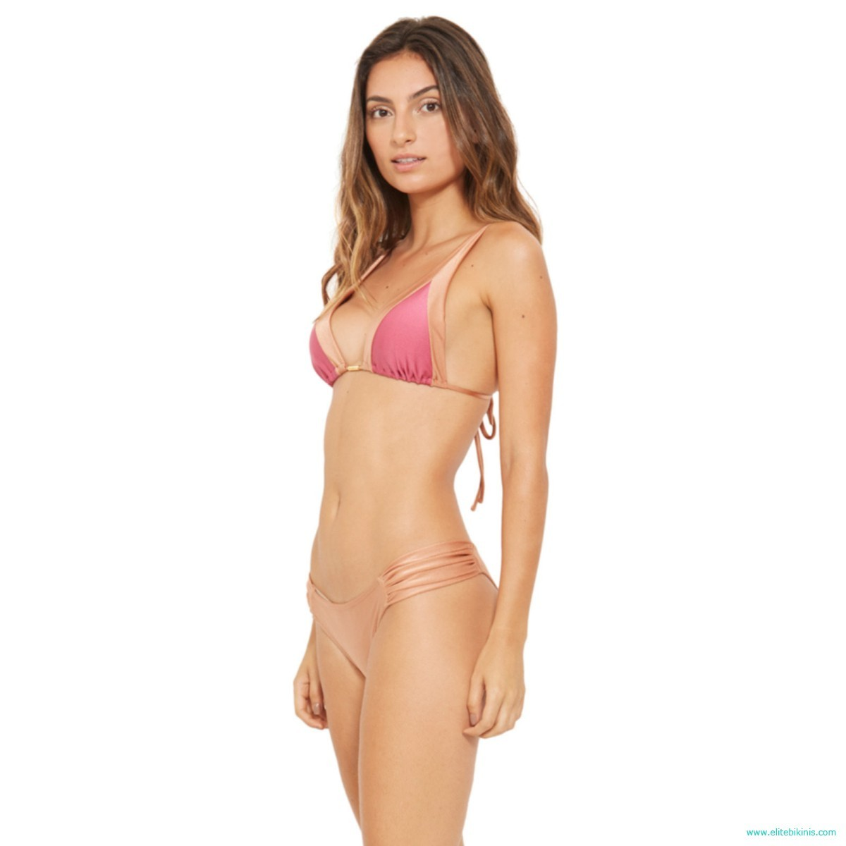 1a026f6ce07 Blue Man brings from Brazil this brand new multicolored brazilian bikini  model, the Acqua Marrom Eres. The top of Acqua Marrom Eres bikini has a  halter top ...