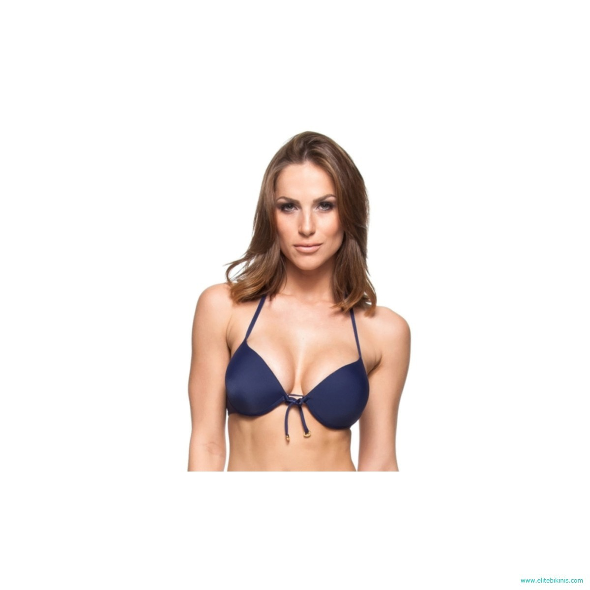 88d4f10ca4 La Playa bikini top in navy blue color from 2018 collection it's made in  Brazil. This Soutien Sol Das Antilhas top has a push-up with underwire  style, ...
