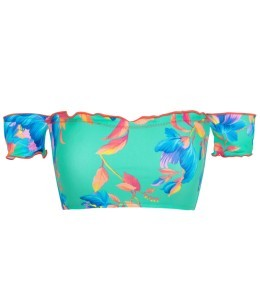 Top Acqua Flora Off Shoulder